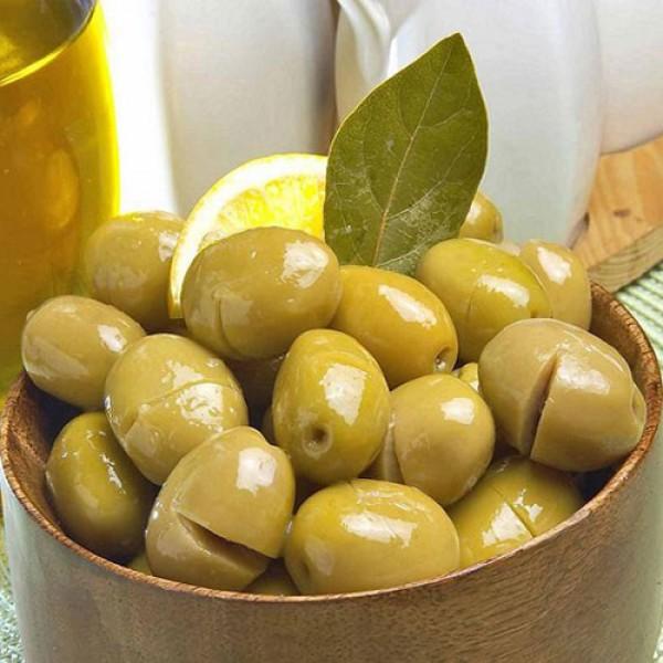 Yeşil Kırılmış Zeytin (1 KG)